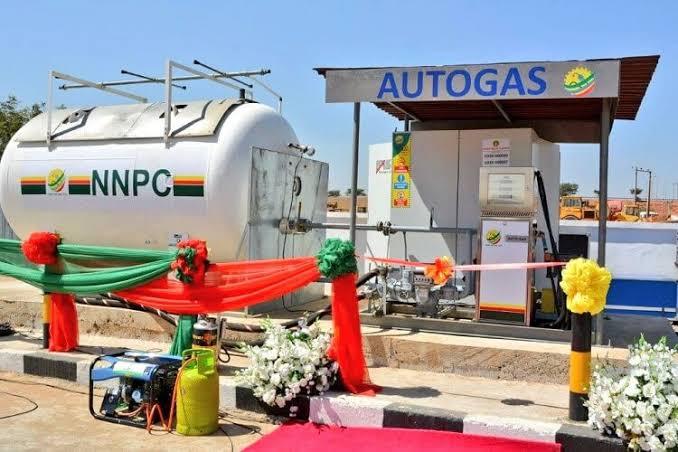 AutoGas station